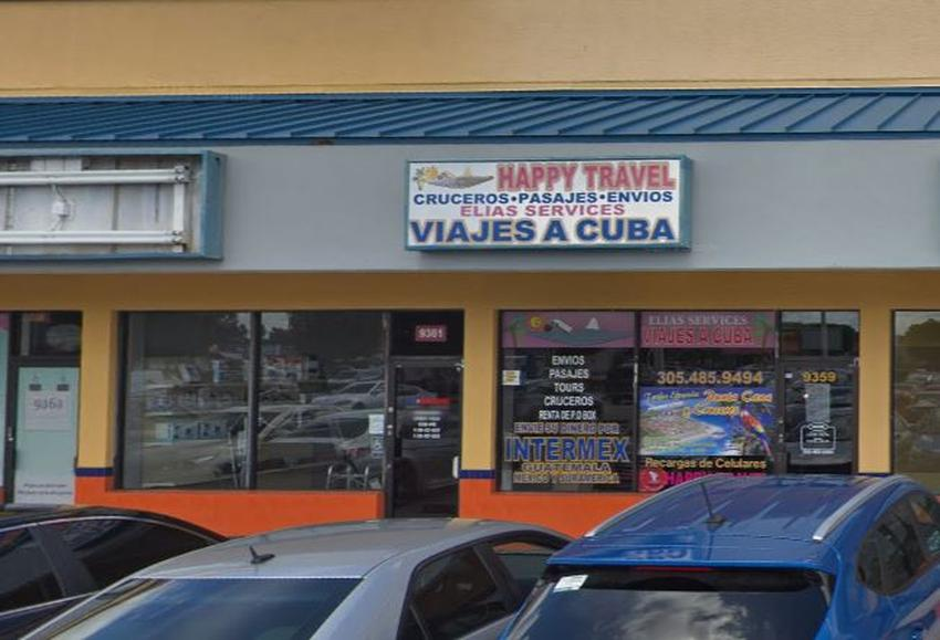 Captan en cámara el robo a una agencia de viajes a Cuba en Miami