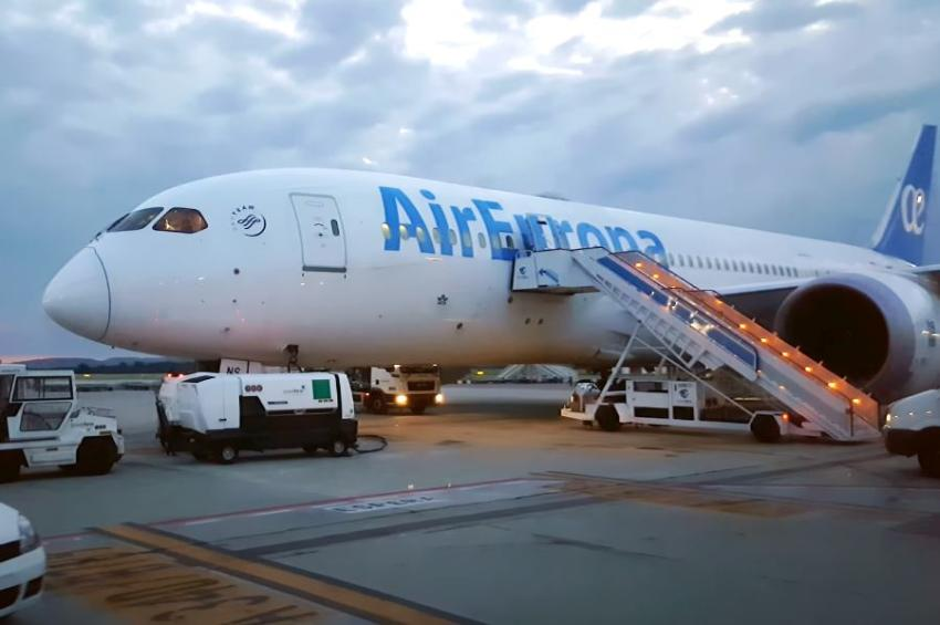 Air Europa extiende la suspensión de sus vuelos a Cuba hasta octubre, por la situación con el Covid-19 dentro de la Isla