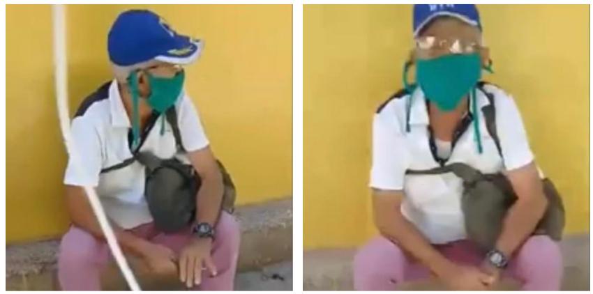 """Cubano increpa a anciano comunista en plena calle: """"Las personas como usted han destruido este país"""""""