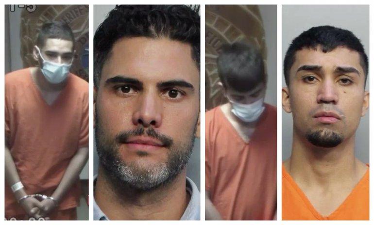 Cuatro jóvenes de Hialeah son arrestados acusados de tráfico de droga y lavado de dinero