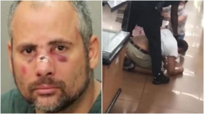 El hombre agredido brutalmente y luego arrestado por un policía en un Walmart de Florida es de origen cubano