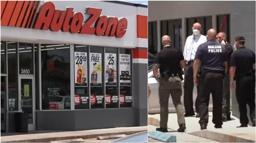 Un hombre armado intenta robar en un AutoZone en Hialeah y se da a la fuga en un Uber