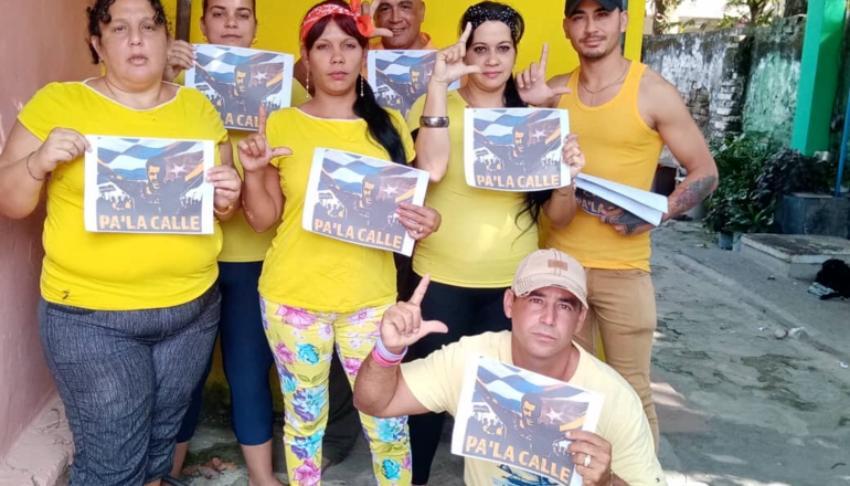 """La disidencia en Cuba inicia protestas con la campaña """"Pa' la Calle"""""""