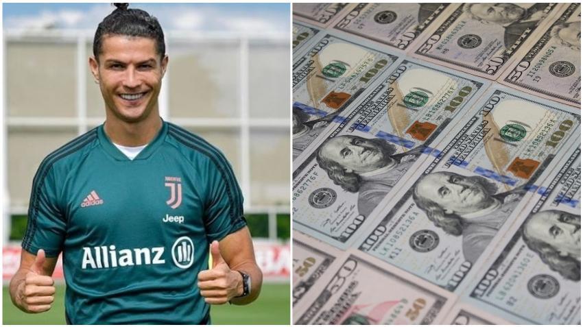 Cristiano Ronaldo se convierte en el primer jugador de fútbol en ganar $ 1000 mil millones de dólares en su carrera