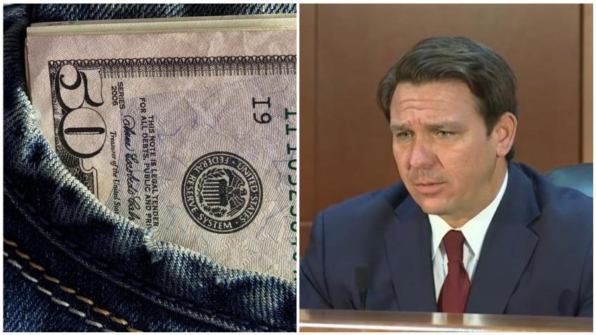 Gobernador de Florida anuncia que el estado comenzará a pagar los $300 dólares de ayuda para el desempleo
