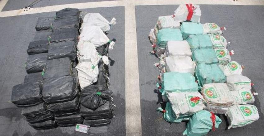 Guardia Costera de los EEUU incauta 118 millones de dólares en cocaína