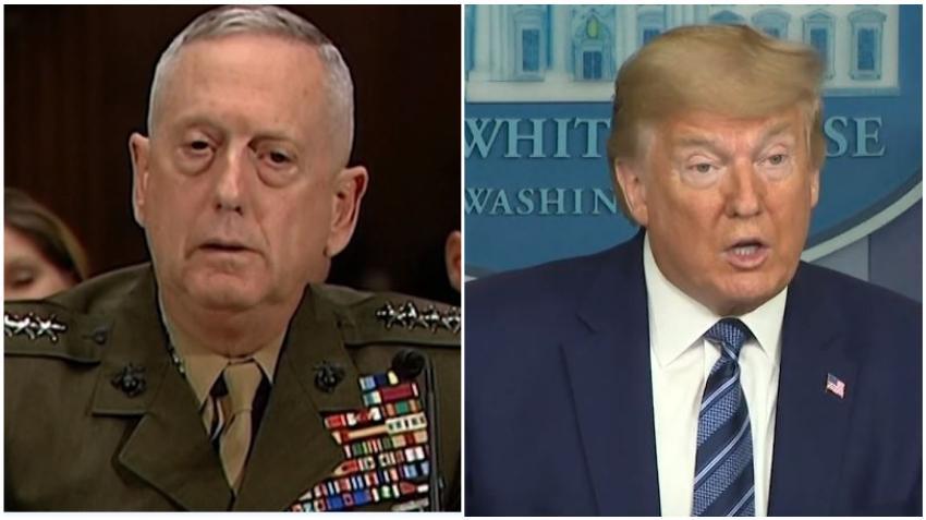 Ex Secretario de Defensa que sirvió a Trump hasta el 2018 arremete contra el presidente y lo acusa de dividir a los estadounidenses