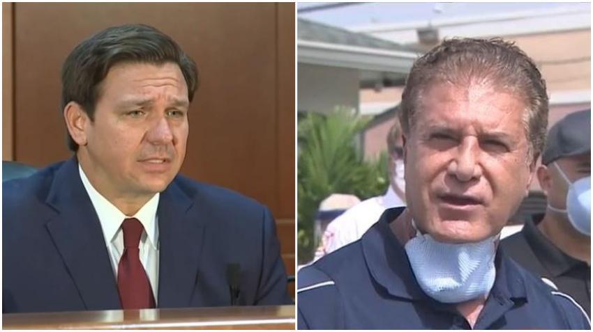 Alcalde de Hialeah deja claro que no ha recibido mucha ayuda por parte del gobernador DeSantis