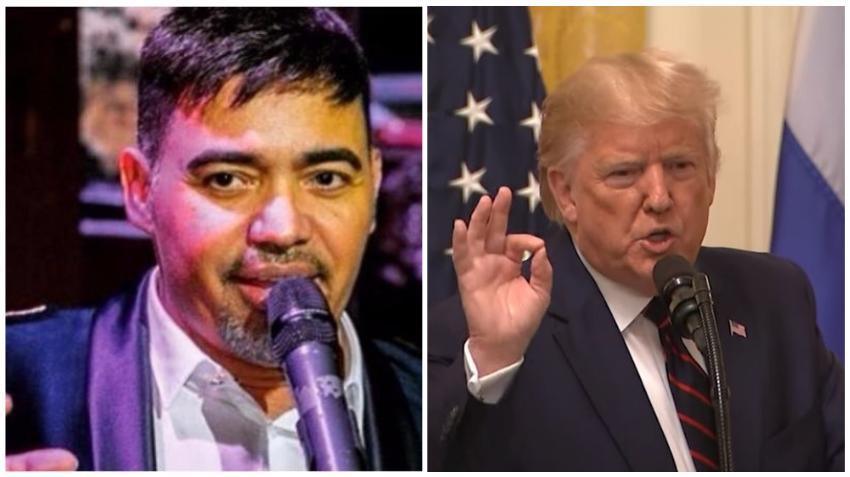 """Manolín el medico de la salsa a los seguidores de Trump: """"La vida no es a lo Trump A lo Trump es la selva."""""""