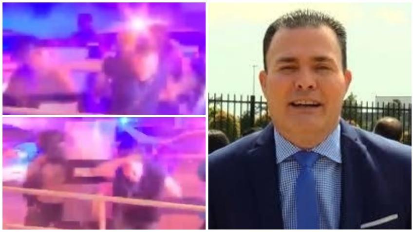 Periodista cubano Mario Vallejo denuncia que fue agredido por la policía de Miami-Dade