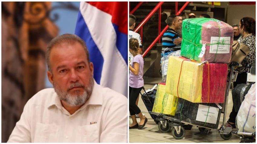 Primer ministro de Cuba Manuel Marrero advierte que solo se permitirán viajeros con una o dos maletas