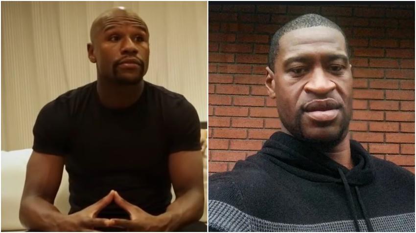 Boxeador Floyd Mayweather pagará el funeral de George Floyd