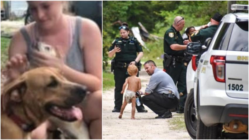 Niño de 3 años de la Florida que desapareció de casa es encontrado en compañía de sus dos perros que lo mantuvieron a salvo