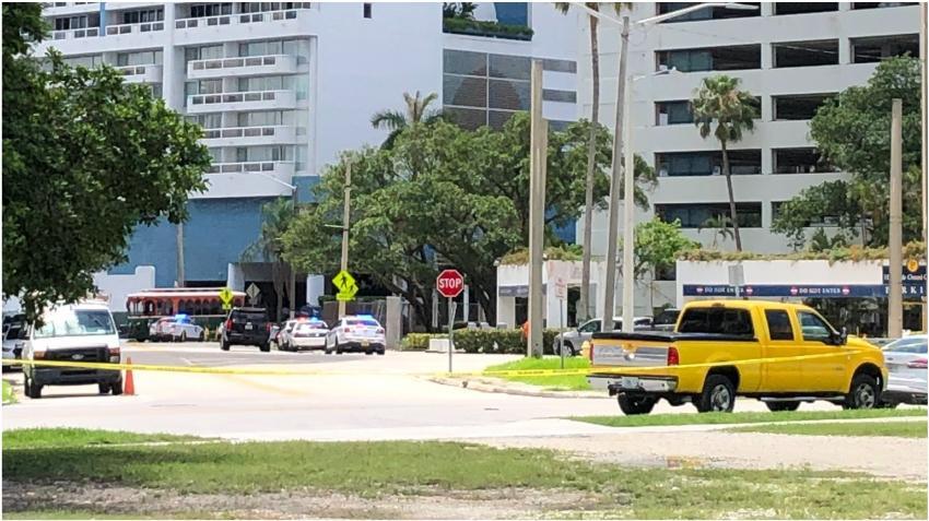 Reporte de otro tiroteo en el Opera Tower provoca gran despliegue policial