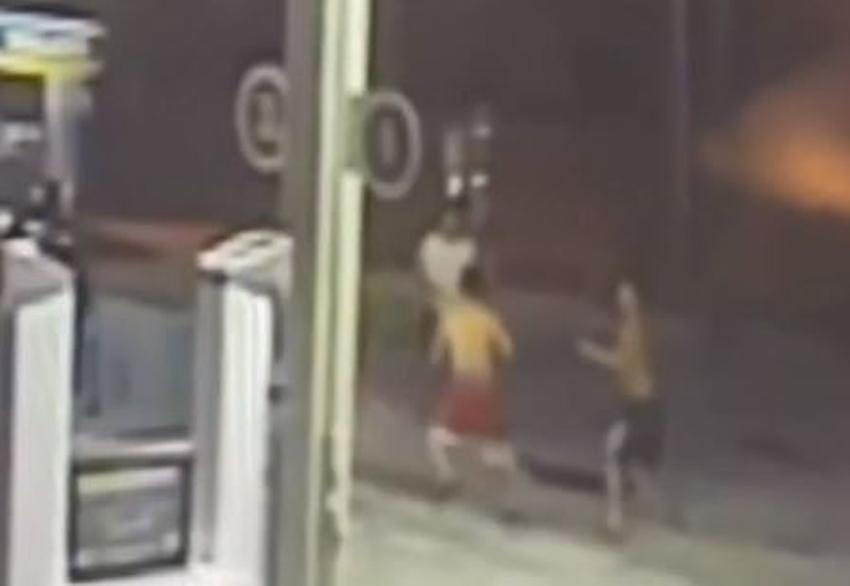 La policía busca hombre involucrado en un apuñalamiento en una gasolinera de Miami