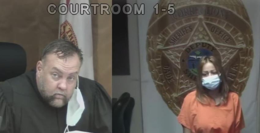 En corte una mujer que agredió a su inquilina por no poder pagar la renta de un efficiency en Hialeah