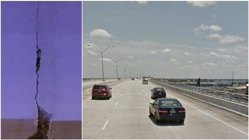 Guardia Costera pide a navegantes evitar pasar por debajo de un puente en Florida por riesgo de colapso inminente