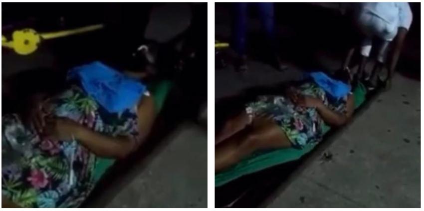Camilleros en Cuba pusieron en el piso a una paciente recién operada