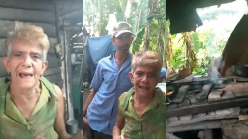 Madre cubana que vive en la miseria con su hijo discapacitado pide ayuda para mejorar su vivienda