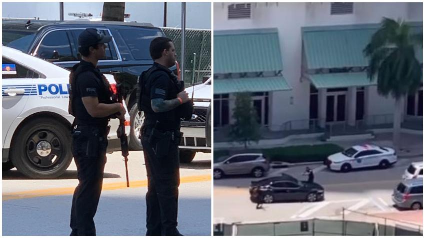 Tiroteo cerca del Opera Tower en Miami provoca fuerte despliegue policial