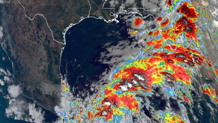 Tormenta tropical Cristobal en el Golfo de México traerá lluvias a la Florida