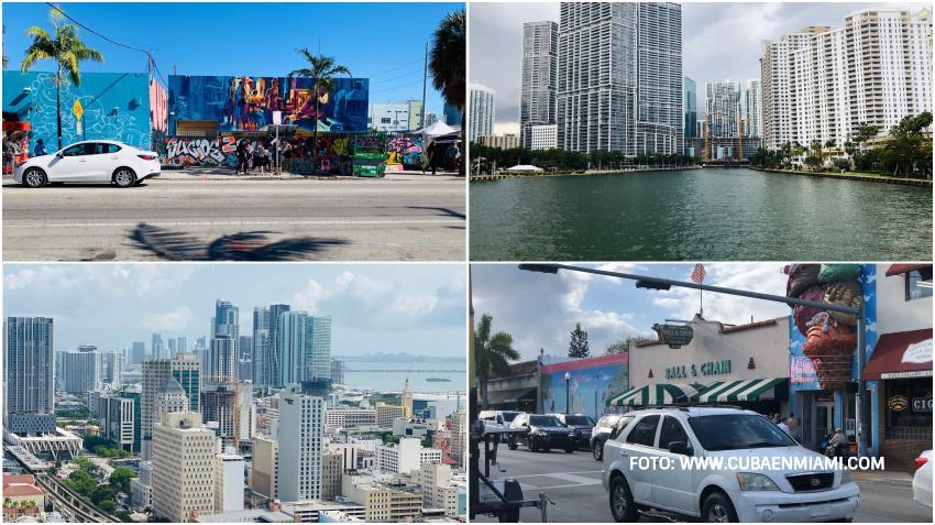 Precio medio de la renta en los diferentes vecindarios de la ciudad Miami