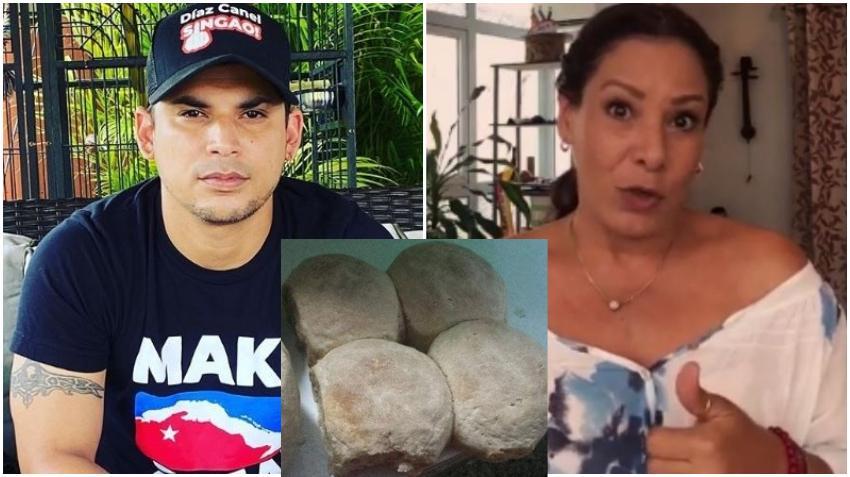 """Youtuber Ultrack le pregunta a Edith Massola por la comida en Cuba: """"Con el pan se hace maravilla y aquí por lo menos hay pan"""""""