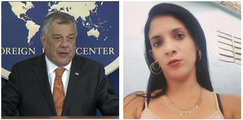 Diplomático estadounidense pide libertad para joven opositora cubana y otros presos políticos en la Isla