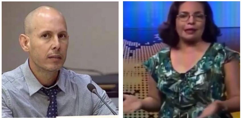 """Periodista oficialista Irma Shelton llama a Ruiz Urquiola """"mercenario al servicio"""" de EEUU"""