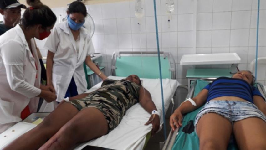 Accidente de tránsito en Camagüey provoca una muerte y ocho lesionados