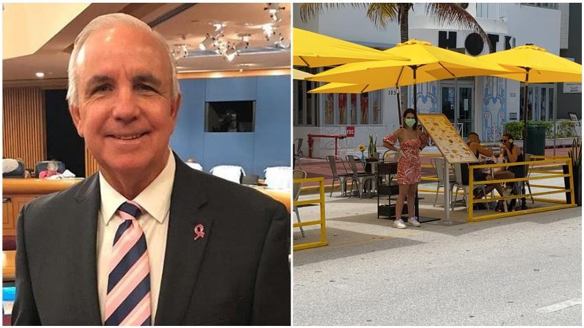 Alcalde de Miami Dade dice que se prepara para permitir que los restaurantes reabran sus comedores