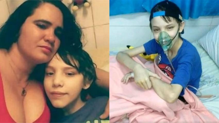 Fallece niño cubano de 12 años que padecía de fibrosis quística y necesitaba un medicamento para sobrevivir
