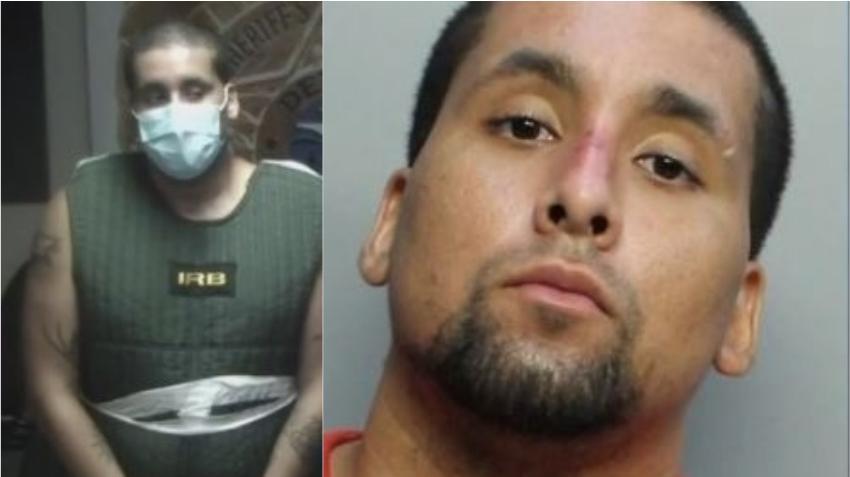 Policía arresta a un hombre acusado de atacar a un oficial de la policía de Miami-Dade