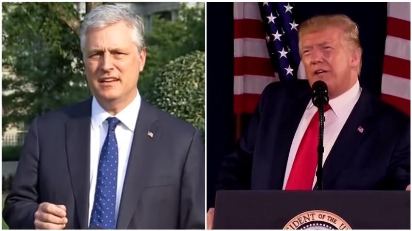 Asesor de Seguridad Nacional del presidente Trump da positivo al COVID-19