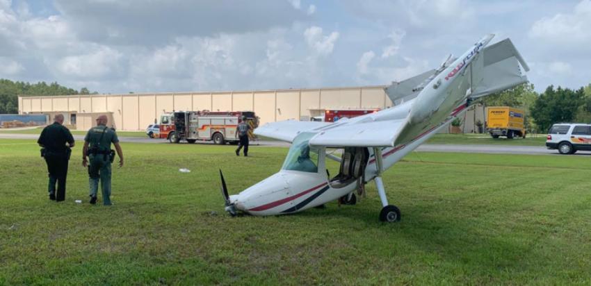 Se estrella una avioneta con dos personas a bordo al norte de Tampa