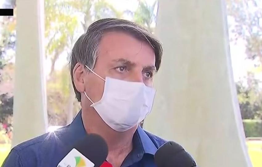 Presidente de Brasil, Jair Bolsonaro, da positivo al coronavirus
