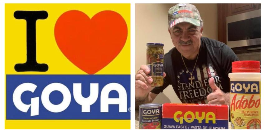 Cubanos dan su apoyo a Goya en redes sociales, luego de que pidieran boicotear la marca por elogiar a Trump