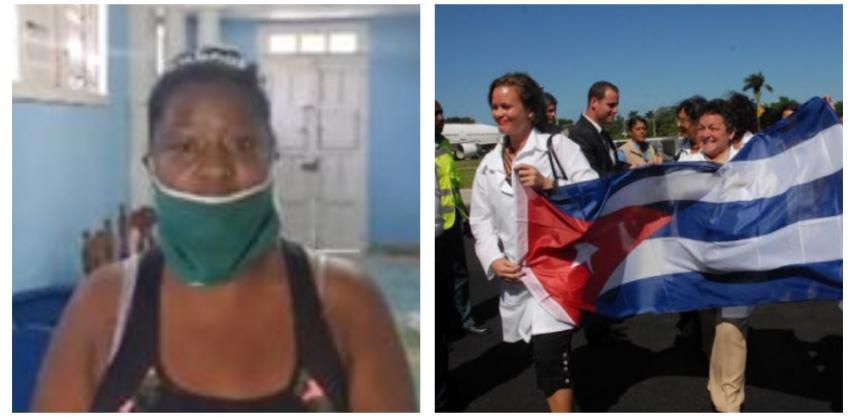Fisioterapeuta denuncia racismo y corrupción en las autoridades cubanas que seleccionan a los médicos para las misiones en el extranjero