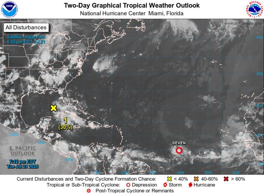 Emiten en Cuba aviso de ciclón tropical