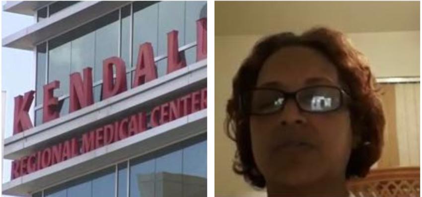 Enfermera del Kendall Regional que se contagió de Covid-19, revela que el hospital no le ha brindado ninguna ayuda