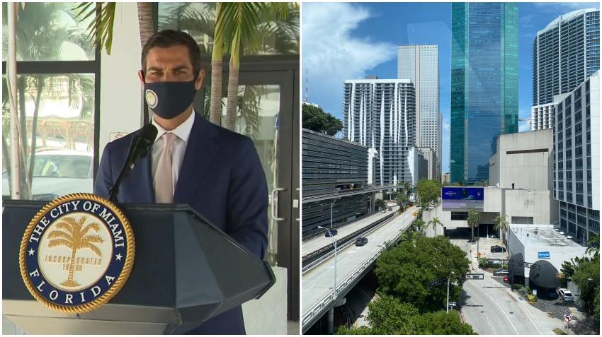 Autoridades de Miami descartan por el momento emitir otra orden de quedarse en casa