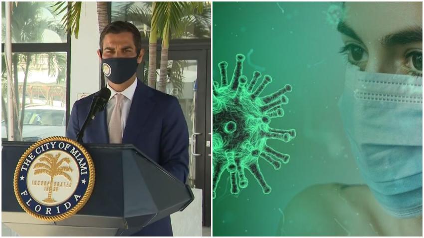 """Alcalde de Miami Francis Suárez: """"El 32% se está contagiando en las casas"""""""