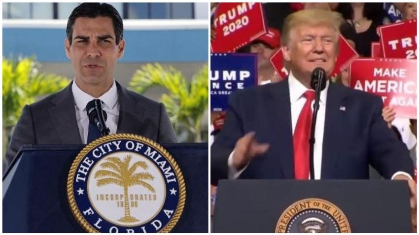 Alcalde de la ciudad de Miami, Francis Suárez, quien es republicano no se compromete a votar por Trump en las próximas elecciones