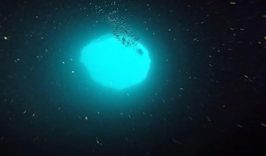 """Extraño """"agujero azul"""" cerca de la costa de Florida provoca investigación de científicos"""