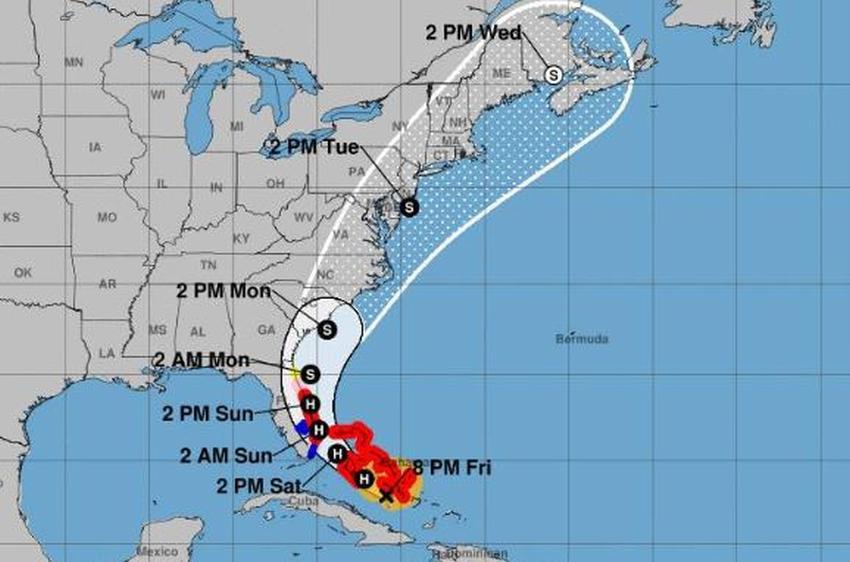 Huracán Isaias se fortalece y amenaza al Sur de la Florida
