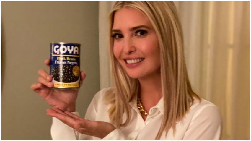 """Ivanka Trump se suma al apoyo a Goya: """"Si es Goya tiene que ser bueno"""""""