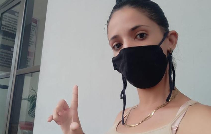 Convocan a tuitazo para exigir a Díaz-Canel liberar de inmediato a la joven opositora Keilylli De La Mora