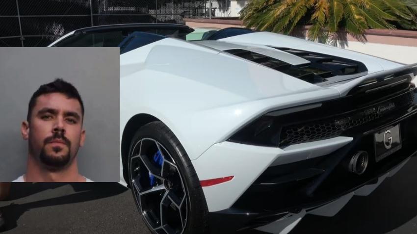 Un hombre de Miami se compra un Lamborghini con fondos de ayuda federal de COVID-19, según informe de arresto