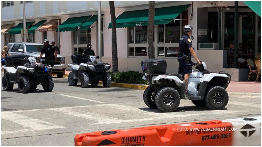 Policía de Miami Beach aumentará la presencia policial en Ocean Drive