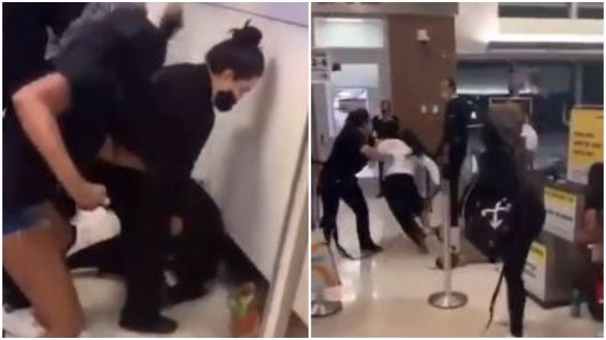 Tres mujeres atacan a empleados de la aerolínea Spirit en el Aeropuerto de Fort Lauderdale